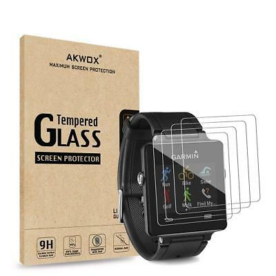 Garmin Vivoactive Tempered Glass Screen Protector Ultra HD Anti-Bubble, 3-Packs