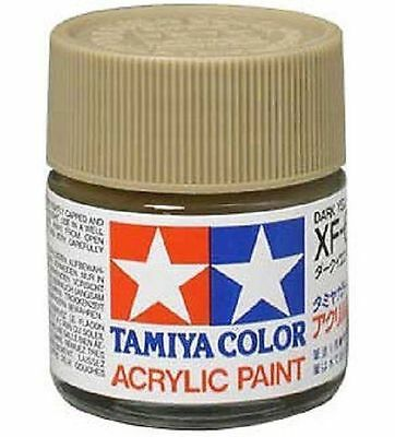 TAMIYA ACRYLIC PAINT 10 ml. - XF60 DARK YELLOW