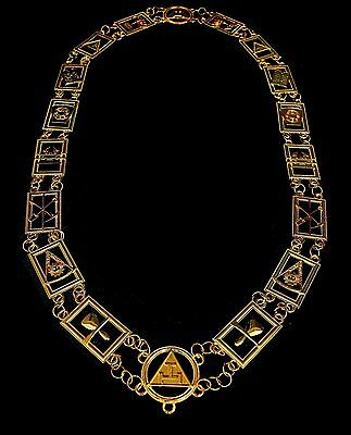 Regalia Masonic Royal Arch Mark Master Collar Only Dmr-300G