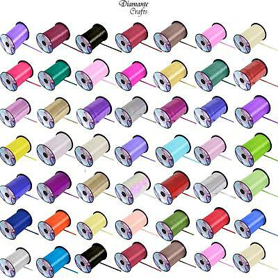 450m / 500 yards Curling 5mm Ribbon - Wrapping  Balloon - Full Roll - 44 Colours
