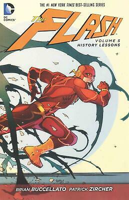 The Flash, Volume 5: History Lessons by Brian Buccellato (English) Paperback Boo