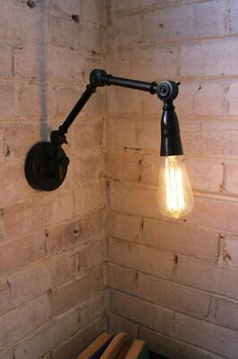 Two Arm Swing Wall Lamp