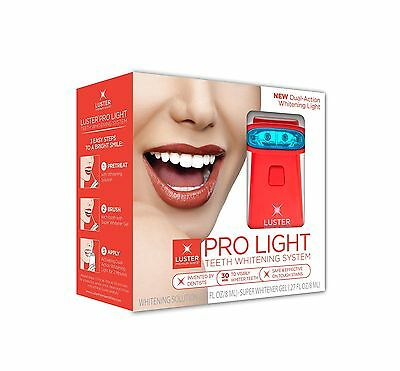 Luster Pro Light Teeth Whitening System with Whitening Solution/Gel