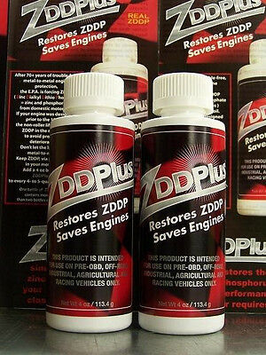 Two (2) ZDDPlus Engine Oil Additive - Restore ZDDP & Save your Engine