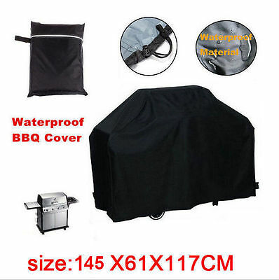 """57"""" Waterproof Bbq Cover Gas Barbecue Grill Protection Patio Outdoor Salability"""