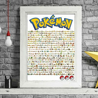 POKEMON GO ASH KETCHUM TRAINER POSTER PICTURE PRINT Sizes A5 to A0 **NEW**