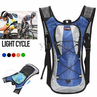 New 5L Hydration Backpack Rucksack 2L Straw Water Bladder Bag For Cycling Hiking