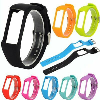 Replacement Sport Silicone Wrist Band Watch Strap Holder w/Buckle For Polar A360