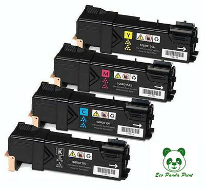 Kit Toner Compatibili Xerox Phaser 6125 - 2.000 Pag. Nero - 1.000 Pag. Cmy
