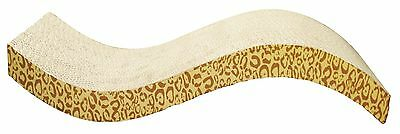 Catit Animal Design Patterned Scratching Board with Catnip S-Shaped