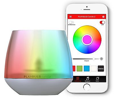 MIPOW PlayBulb LED Flameless Candle Light With Smartphone Control App