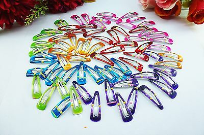 50x Assorted Lovely Princess Girl Baby Toddler Hair Clips Accessories Best Gift