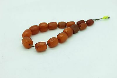 Antique Original Perfect Elips Bits Egg Yolk Amazing Naturel Amber
