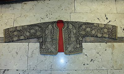 Antique Original Full Sim Ottoman Amazing Anatolian Handmade Child Dress