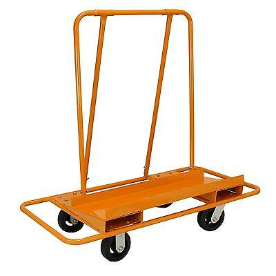 Plasterboard Trolley Drywall Cart Heavy Duty Wheeled Sheetrock Boards Carrier