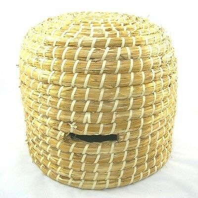 Hand Made Traditional Straw Skep / Hive