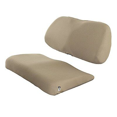 Classic Accessories Fairway Golf Cart Diamond Air Mesh Bench Seat Cover, Khaki