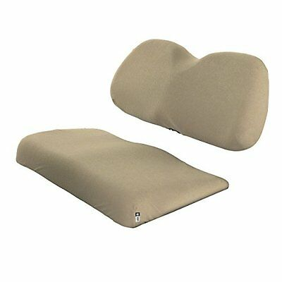 Classic Accessories Fairway Golf Cart Terry Cloth Bench Seat Cover, Khaki