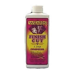 Wizards 11046 Finish Cut Compound, 4oz