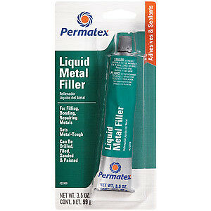 Permatex 25909 Liquid Metal Filler - Each