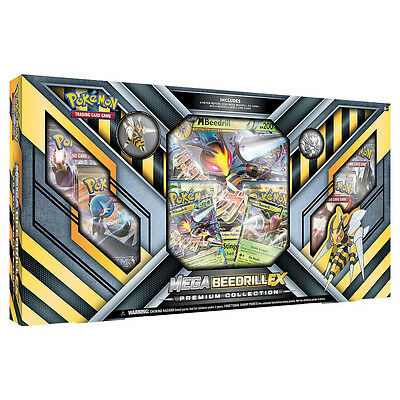 Pokemon TCG Mega Beedrill-EX Premium Collection New