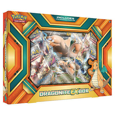 Pokemon TCG Dragonite-EX Box
