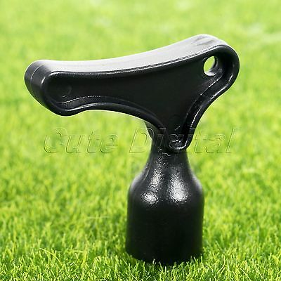 Golf Shoe Cleats Wrench Tool Spike Removal Accessories Tranning Club Aids Black