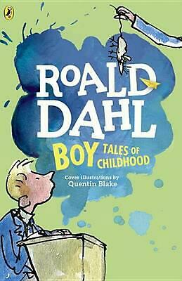 Boy: Tales of Childhood by Roald Dahl (English) Paperback Book Free Shipping!