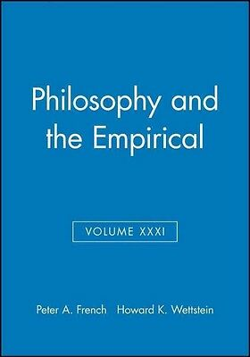Philosophy and the Empirical by Howard Wettstein Paperback Book (English)