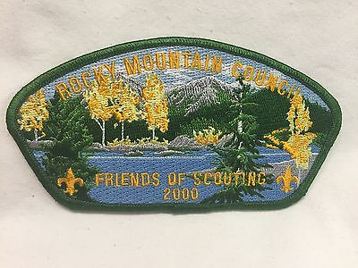 Boy Scouts  -  Rocky Mountain Council - 2000 Friends of Scouting csp
