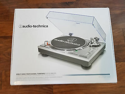 Audio-Technica AT-LP120-USB Direct Drive Professional DJ Turntable with USB