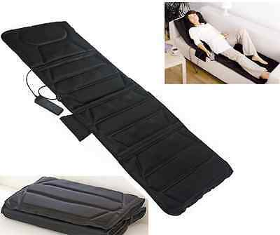 Massage Mattress Full Body Heated Massager With Remote Control Cushion Foldable