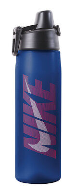 Nike 24oz Core Hydro Flow Graphic Water Bottle   Game Royal/Challenge