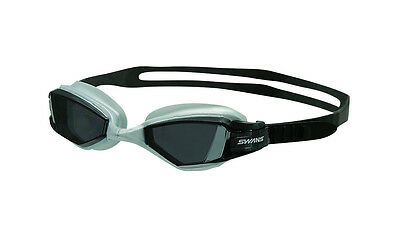 Swans Polarized Open Water Seven Goggles Smoke/Silver