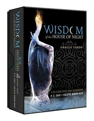 NEW Colette Baron-Reid Wisdom of the House of Night Oracle Cards Deck P.C. Cast