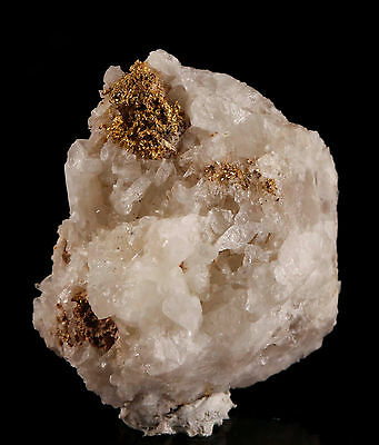 Crystalline Gold in Quartz from Rochester M.D., Lincoln Hill Mine, Nevada, USA