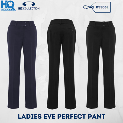 Women Business Casual Ladies Eve Perfect Pants Stretch Office Workwear Fb Bs508L
