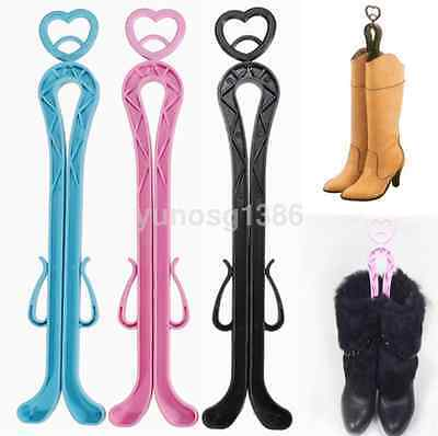 Boots Knee High Shoes Clip Support Stand Rack Holder Arm Organizer Home Storage
