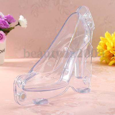 3D High Heel Shoe Chocolate Candy Cake Cookie Decorating Mould Ice Soap DIY Mold