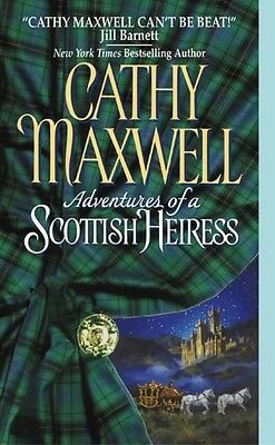 Adventures of a Scottish Heiress by Cathy Maxwell Mass Market Paperback Book (En