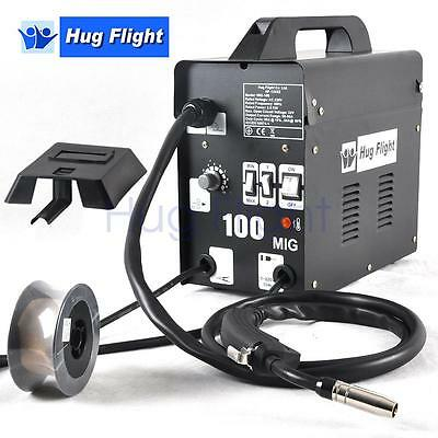Hug Flight Professional Gasless Mig Welder 100A Flux Wire Flux Wire Accessories