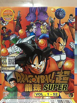 DVD Dragon Ball Super Vol. 1-52 END.. English Subtitle All Region