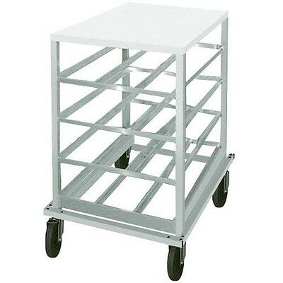 Advance Tabco CRPL10-72 Low Profile Mobile Can Rack for #10, #5 - 72-Can Capacit