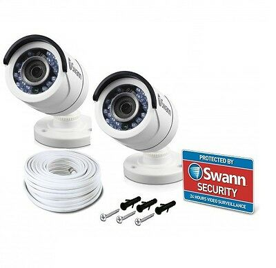 2x Swann PRO-T853 HD 1080P CCTV Security Camera For DVR 4550 4750 1590 8075 5000