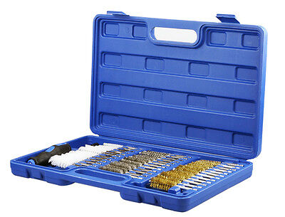 38 pc Industrial Gun Cleaning Brush Kit Gun Rifle Pistol Cleaning