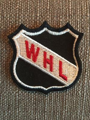 "New Vintage WHL Western Hockey League Sew On Patch 3"" Canada MB SK AB BC"