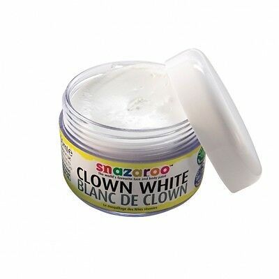 Snazaroo Clown White 50ml FACE PAINT (Professional/Body/Fancy Dress/Make Up)