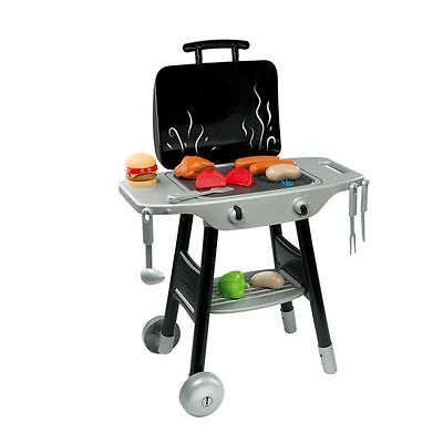 Smoby Toy Roleplay Barbecue And Grill Play Set Bbq Kids **fast Delivery**