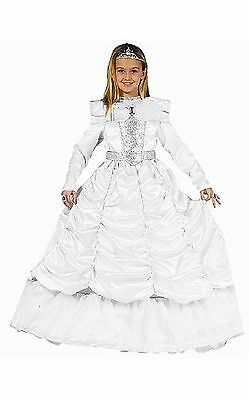 Dress Up America 540-T4 Luxurious White Cinderella Toddler Costume (3-4 Years)