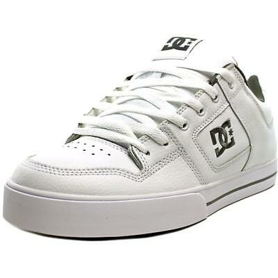 DC Shoes Pure Men  Round Toe Leather  Skate Shoe